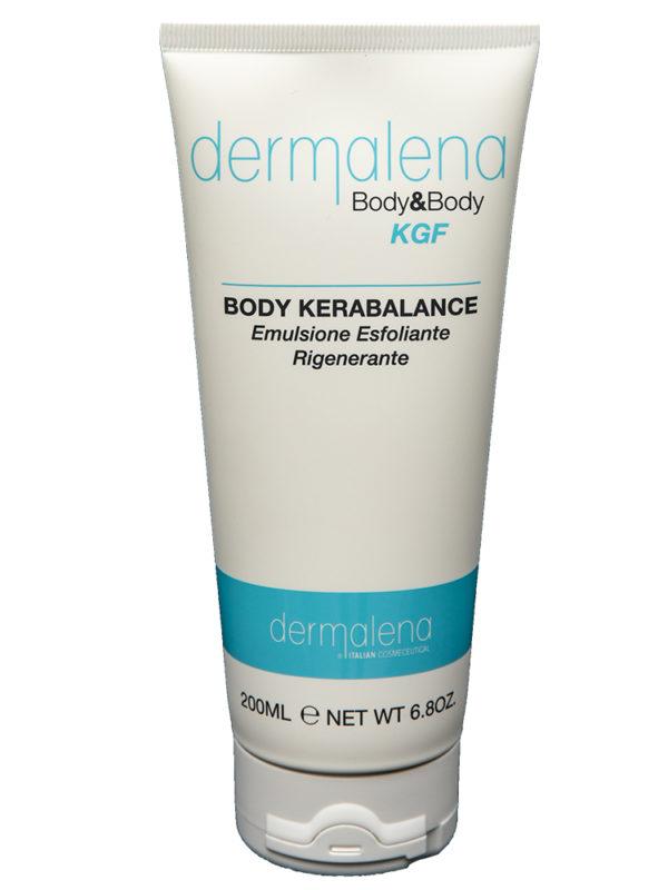 L'immagine raffigura il tubo della crema Professionale KGF - BODY KERABALANCE