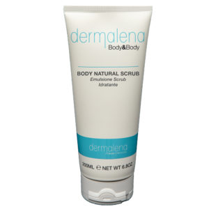 The picture shows the tube of Professional cream BODY NATURAL SCRUB